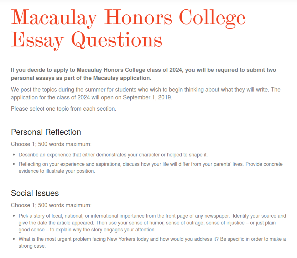 Hugh Gallagher College Essay  Corruption Essay In English also Research Essay Proposal Essay Cuny Application Essay Suzenrabionetassociatscom With  Essay Writing For High School Students